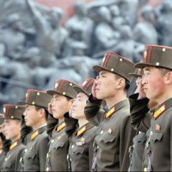 Пхеньян почти не виден
