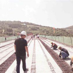 Китай ударными темпами прокладывает  6-ти полосное шоссе к границе КНДР