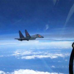Китайские ВВС провели учение над Желтым морем