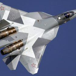 """""""Россия 24"""" показала первый полет Су-57 с новым двигателем"""