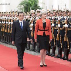 Ли Кэцян и Т.Мэй провели ежегодную встречу премьер-министров Китая и Великобритании