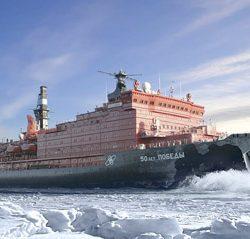 Русские и их ледоколы. Америке придётся бороться за Арктику