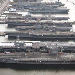 Авианосцы США остались в базах. Почему?