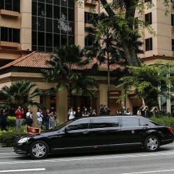 Трамп и Ким Чен Ын прибыли в гостиницу Capella, где пройдет саммит