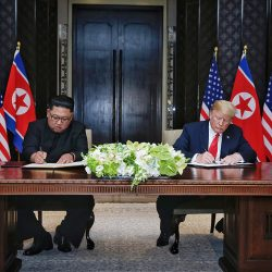 Текст совместного документа Трампа и Ким Чен Ына по итогам саммита