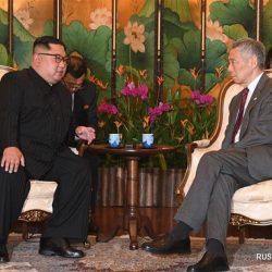 Премьер-министр Сингапура Ли Сянь Лун встретился с лидером КНДР Ким Чен Ыном