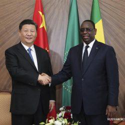 Си Цзиньпин провел переговоры с президентом Сенегала М. Салем