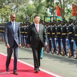 Си Цзиньпин провел переговоры с президентом Руанды П.Кагаме