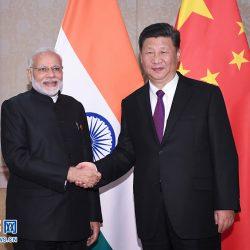 Си Цзиньпин провел встречу с премьер-министром Индии Нарендрой Моди