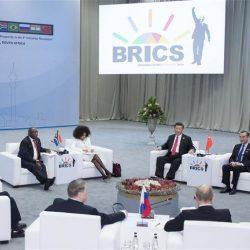 Си Цзиньпин принял участие в неформальном заседании, посвященном десятилетию первой встречи лидеров стран БРИКС