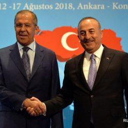 Министры иностранных дел Турции и России совместно осудили санкционные меры США