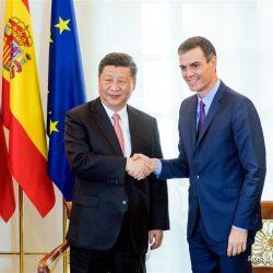 Си Цзиньпин провел переговоры с премьер-министром Испании П. Санчесом