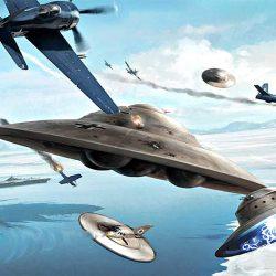 Тайна адмирала Бэрда, илилетающие тарелки Антарктиды