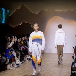Нью-Йоркская неделя моды сезона осень-зима 2019/2020 -- Коллекция от китайского бренда Li-Ning
