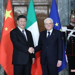 Си Цзиньпин провел переговоры с президентом Италии С.Маттареллой