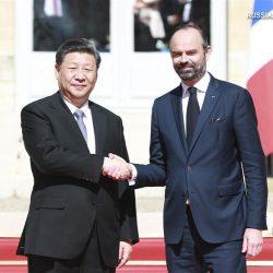 Си Цзиньпин провел встречу с премьер-министром Франции Э. Филиппом