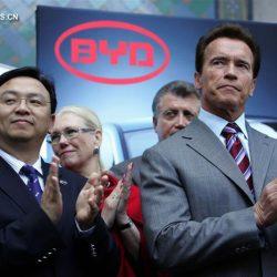 Китайский автопроизводитель BYD выпустил 300-й электробус в США