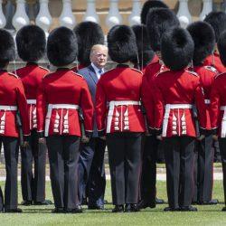 Д. Трамп прибыл в Великобританию с визитом