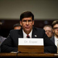 Сенат США утвердил на посту министра обороны США М. Эспера
