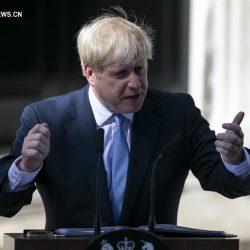 Б. Джонсон вступил в должность премьер-министра Великобритании