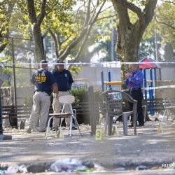 В результате стрельбы в Нью-Йорке погиб один человек