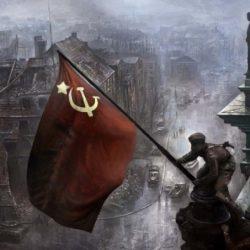 Герои, водрузившие знамя Победы над Берлином