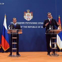 Сербия и Россия подписали ряд соглашений о сотрудничестве
