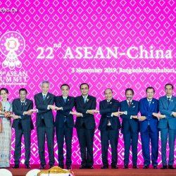 Ли Кэцян принял участие в 22-й встрече руководителей Китай-АСЕАН