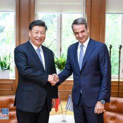 Си Цзиньпин провел переговоры с премьер-министром Греции Кириакосом Мицотакисом