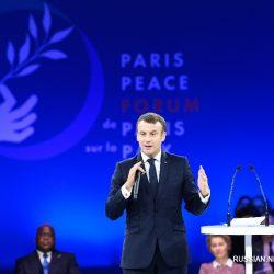 """Соблазн унилатерализма """"чрезвычайно рискован"""" -- президент Франции Э. Макрон"""