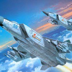 Истребитель-перехватчик МиГ 25