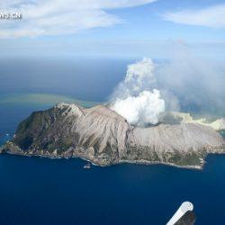Двое китайских граждан пострадали при извержении вулкана в Новой Зеландии