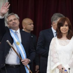 А. Фернандес приведен к присяге в качестве президента Аргентины