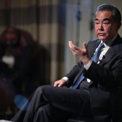 Именно США грозят Китаю, а не наоборот -- Ван И