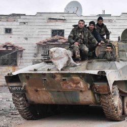 Шоссе Дамаск -- Алеппо официально открыто для транспортного сообщения