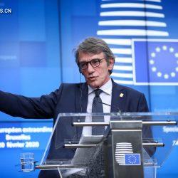 Председатель Европарламента Д. Сассоли объявил о самоизоляции из-за эпидемии