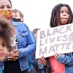 В Амстердаме прошел протест против расовой дискриминации
