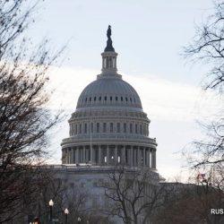 Временно закрыт Капитолий США из-за пожара в соседнем районе