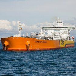 Первый российский танкер класса «Афрамакс» «Владимир Мономах» вышел в свой первый рейс!