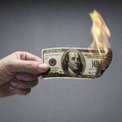 Сказ о том, как Российская Федерация  от доллара отказывалась