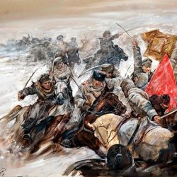 Кресты и звезды.  25 октября 1922 года в России окончилась Гражданская война