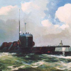 Атомные подводные лодки  с крылатыми ракетами. Проект 659