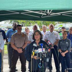 Во Флориде при обрушении здания погибли четыре человека, еще 159 числятся пропавшими без вести