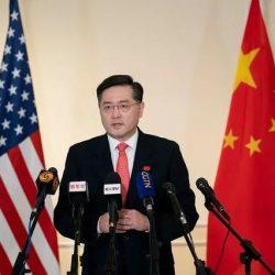 """Дверь китайско-американских отношений """"не может быть заперта"""" -- новый посол Китая в США Цинь Ган"""